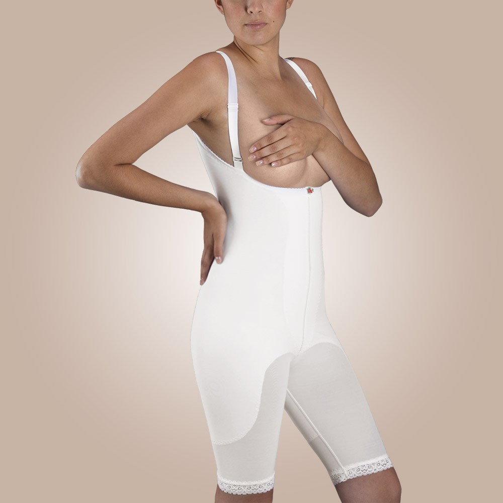 High-Back Body Girdle, Non-Zippered