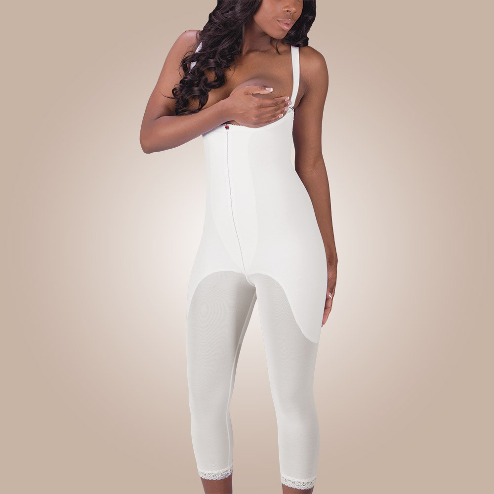 High-Back Full Body Girdle, Non-Zippered
