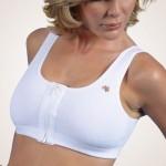 Yesmina-Z Front Zippered Cotton Medical/Sports Bra
