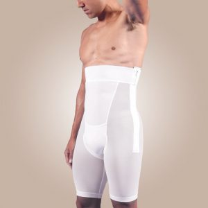 Zippered Above-Knee Abdominal Garment