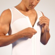 Zippered Abdominal / Chest Garment
