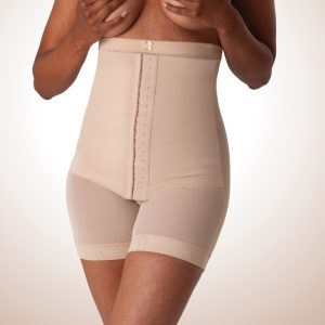 Mid Body Support with Adjustable Corset
